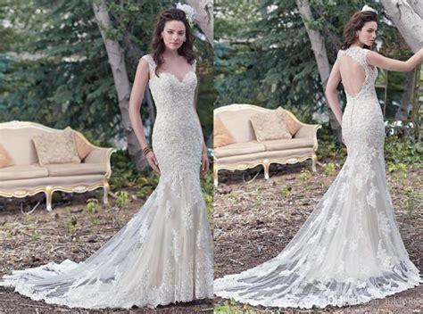 New 2016 Sweetheart Backless Sheath Wedding Dresses