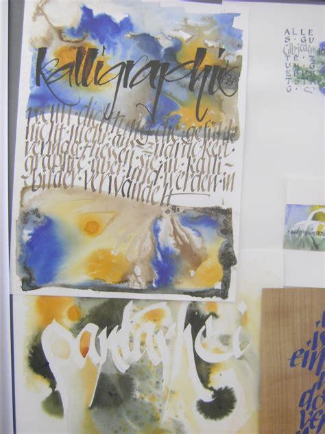 meine quilts und ich schrift kalligraphie