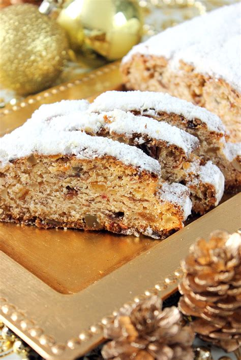 stollen gateau de noel traditionnel allemand les