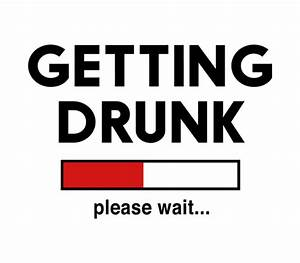 getting drunk please wait beer label by bottleyourbrand With please wait