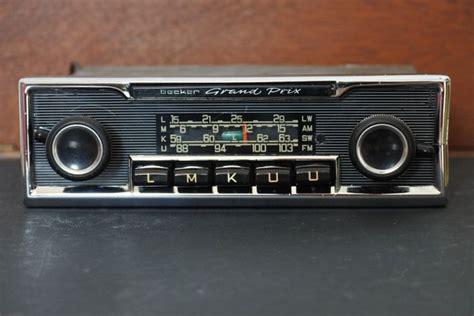 becker grandprix classic top radio 1960s 1970s catawiki