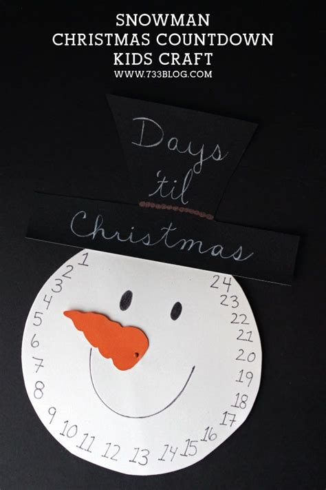 1000 ideas about christmas countdown crafts on pinterest