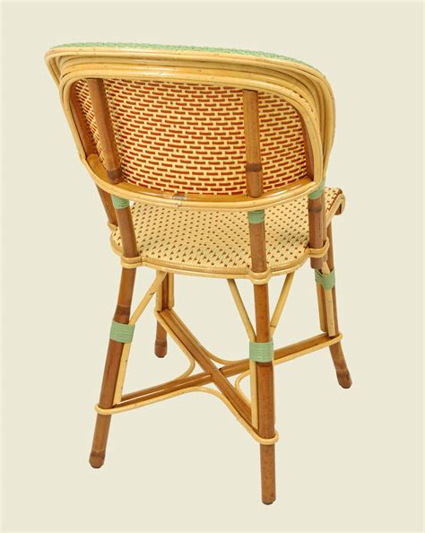 chaise drucker bastille chair ivory brick jade green maison drucker