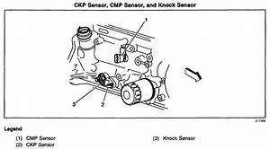 I Need A Diagram Of The Position Of The Crankshaft Sensor