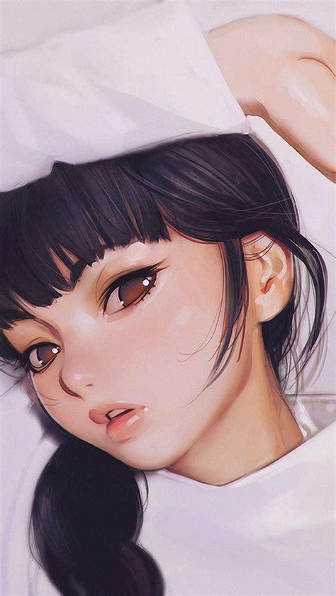papersco iphone wallpaper aw ilya kuvshinov anime