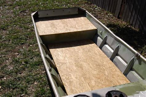 jon boat deck ideas custom bowfishing boats images