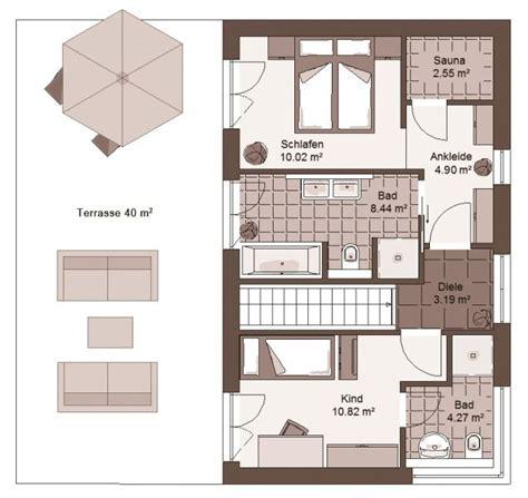 Stadtvilla Mit Dachterrasse by Stadtvilla Geno Livingstar 19 Haus Grundriss Bauen