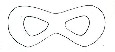 robin mask template sweet guest post mask how to