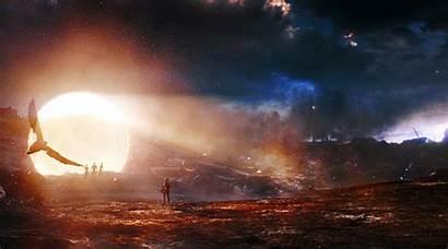 Endgame Avengers Gifs Movie Backgrounds Theme Portals