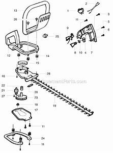 Weed Eater Ght225 Parts Diagram