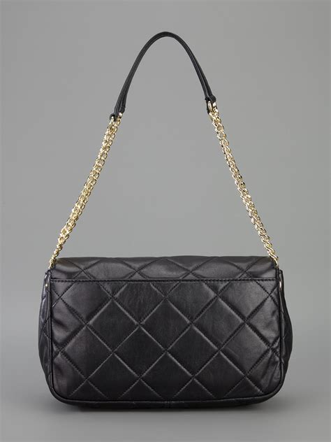 michael kors quilted bag michael michael kors quilted chain shoulder bag in black