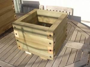 Bac En Bois Pour Jardin : bac en bois carre 10 litres ~ Melissatoandfro.com Idées de Décoration