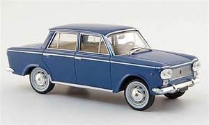 Fiat 1500 Miniature Bleu 1961 Starline 1  43