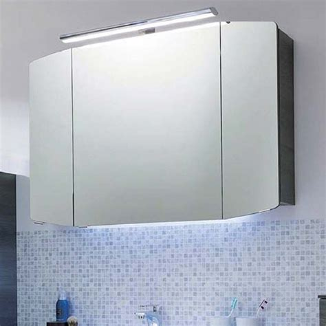 Bathroom Mirror Units by Cassca Bathroom Mirror Unit With Top Light 3 Doors With