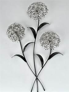 Wanddeko Metall Modern : wanddeko wandbild pusteblume blumenzweig metall silber 74 cm formano ebay ~ Frokenaadalensverden.com Haus und Dekorationen