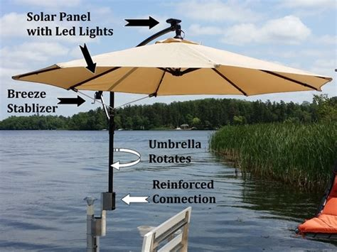 Boat Dock Umbrella by What S New V Dock R D Manufacturing Inc