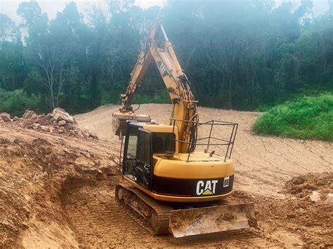 cat  excavator practical test