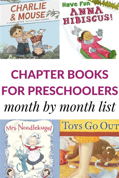 read aloud chapter books for preschoolers month by month 199 | chapter books for preschoolers