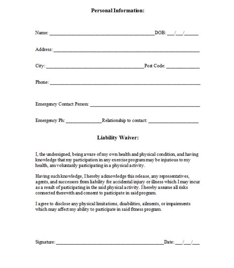 simple resume format in word for job beneficiary release form hipaa release form download free premium templates forms image