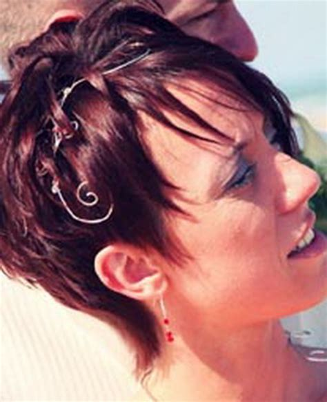 accessoires coiffure mariage cheveux courts