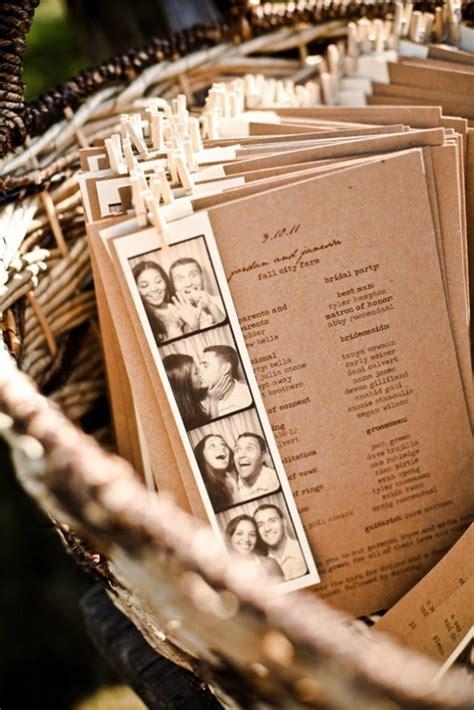 15 non traditional wedding programs rustic wedding inspiration wedding programs and reception - Non Traditional Wedding Reception Program Ideas
