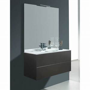Meuble Salle De Bain Taupe : meuble pour salle de bain meubles a suspendre taupe ~ Dailycaller-alerts.com Idées de Décoration
