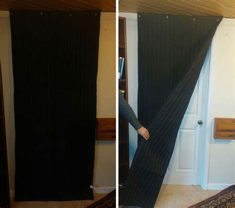 Soundproofing Door (how Much, Lowes, Curtains, Paint