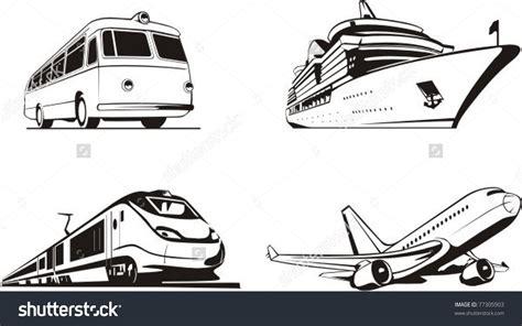 Public Means Of Transport Clipart