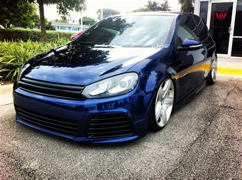 volkswagen dark blue blue vw golf mk6 with bentley wheels vw golf tuning