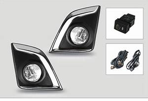 For Isuzu D Max 2016 Up Fog Light Halogen Fog Lamp Assembly With Wiring Kit And Switch Shippin