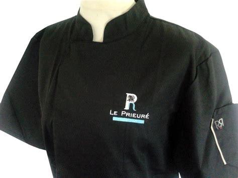 veste de cuisine homme brodé références entreprises artisans tabliers et vestes de