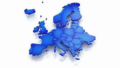 Map Europe France Animation Countries Shutterstock England