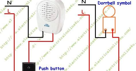 doorbell wiring diagram how to wire or install doorbell in your house electrical tutorials