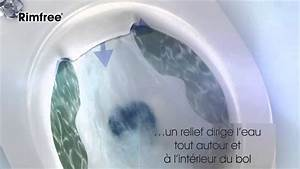 Wc Suspendu Sans Bride : cuvette de wc suspendu sans bride rimfree selles ~ Dailycaller-alerts.com Idées de Décoration