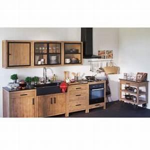 Magasin De Meuble Alinea : meuble de cuisine haut 2 portes 110cm lys les meubles de ~ Teatrodelosmanantiales.com Idées de Décoration