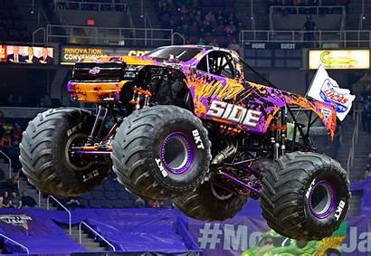 Wild Side Monster Jam Truck Monsterjam Trucks