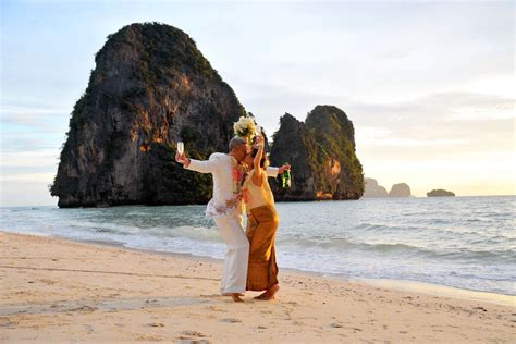 Railay Beach Wedding Thai Ceremony Package Flavia Werneck