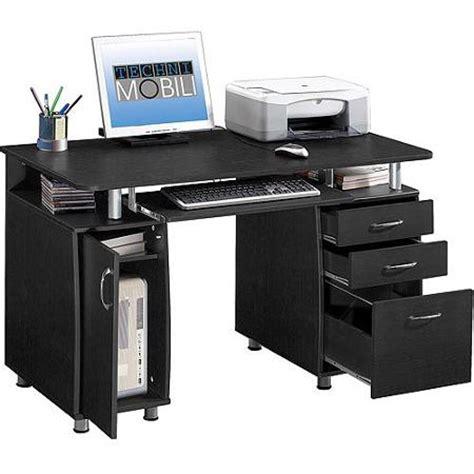 cheap desk with storage 1sale techni mobili super storage computer desk espresso