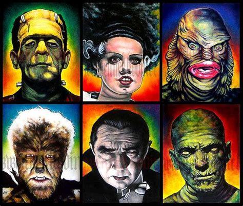 classic monsters ideas  pinterest horror