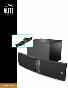 Altec Lansing Speaker Vs2521 User Guide