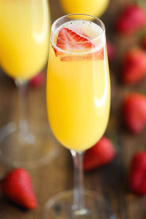 mimosa recipes strawberry pineapple mimosa mon cheri bridals