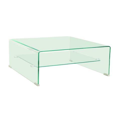 bout de canapé blanc laqué carrée toute en verre laissez vous séduire par cette