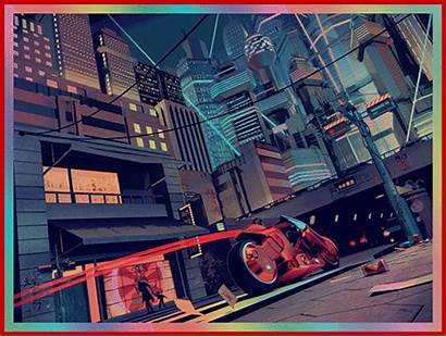 Neo Tokyo Akira Mercenary Neotokyo Mercenarygarage Garage