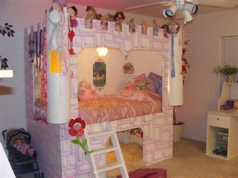 Princess Castle Bed Plans For Girls