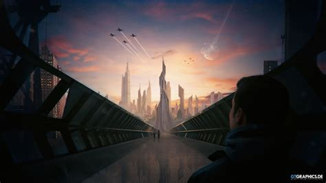 futuristic city concept wallpapers hd wallpapers id