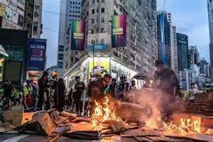 hong kong instability continues  realistic objective konsume