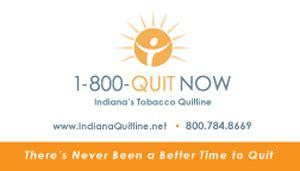 indiana tobacco quitline  materials  print