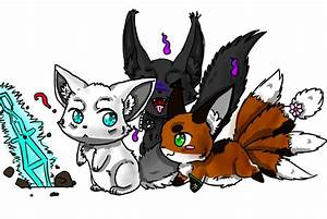 Pin Anime Wolf Pups Playing on Pinterest