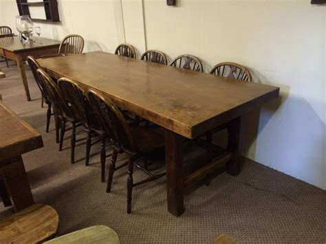 thick top dining table thick top beech 8ft antique table elm dining table