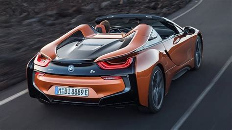 La Auto Show The 2019 Bmw I8 Roadster Is An Electrifying